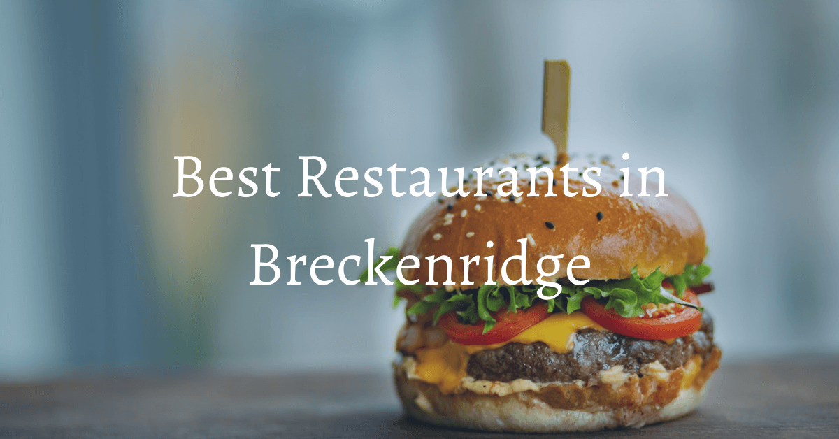 where to eat breckenridge