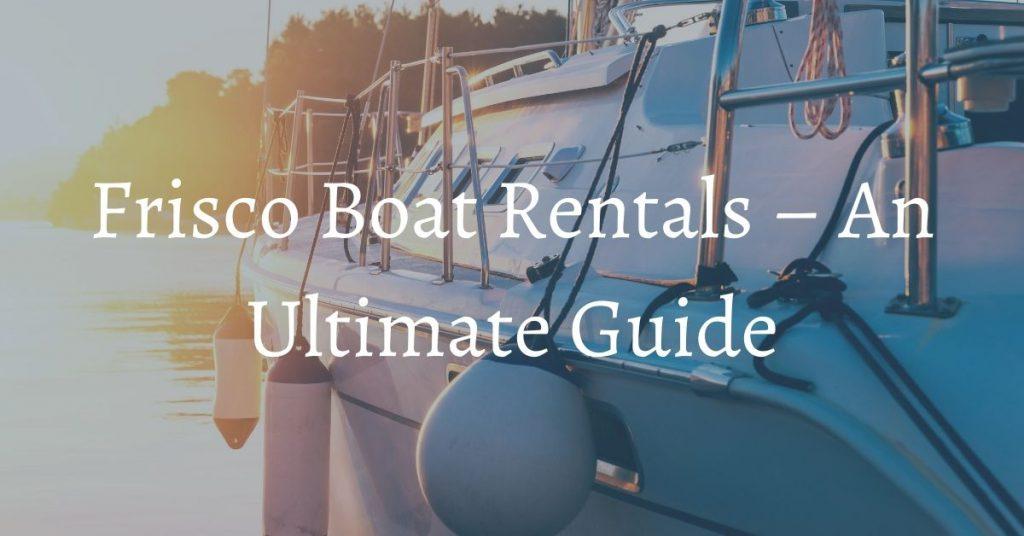 Bighorn Rentals boat rentals