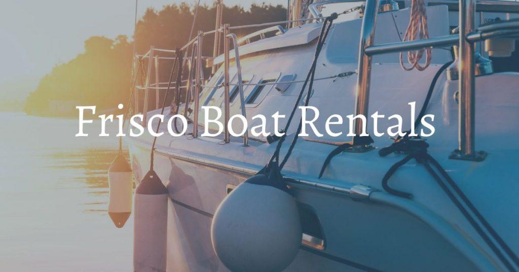 frisco boat rentals colorado