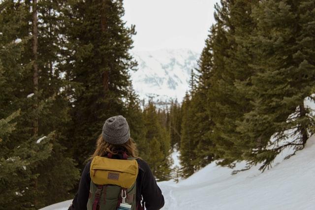 Exploring Frisco, Colorado snowshoeing trails