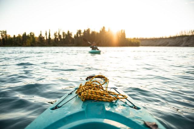 Kayaking in Frisco, CO