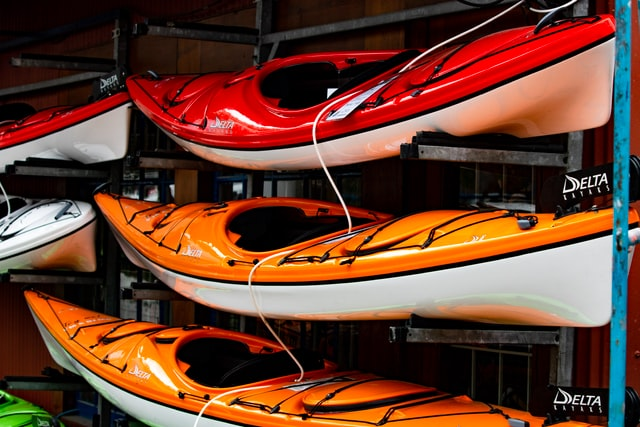 Renting kayaks in Summit County, CO