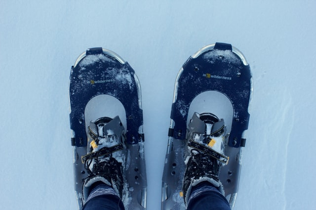 Snowshoeing equipment in Frisco, CO