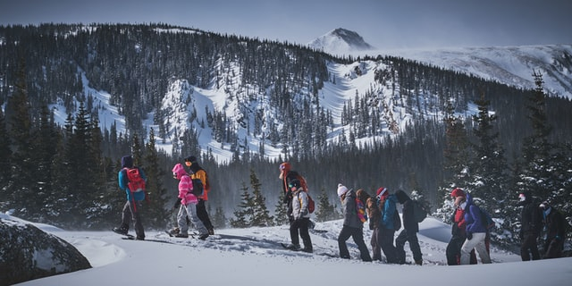 Snowshoeing guided tours in Frisco, Colorado
